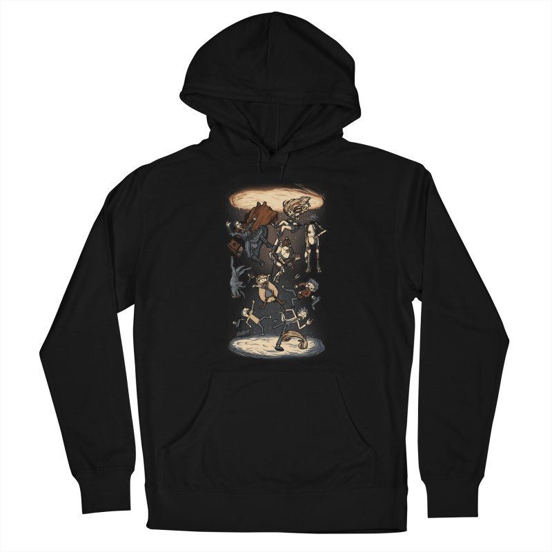 Portal Men's French Terry Pullover Hoody by Red Bug's Artist Shop