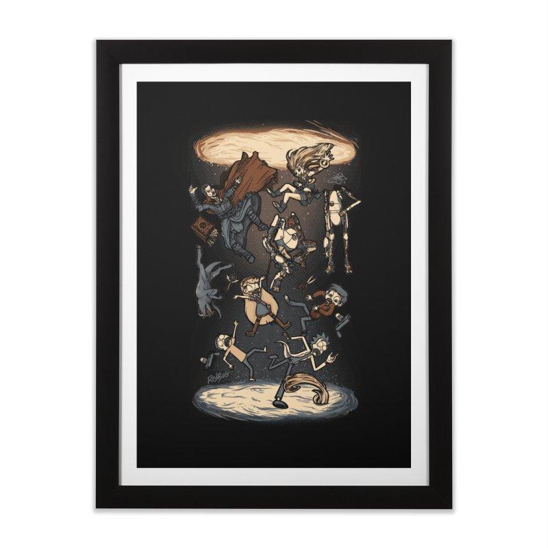Portal Home Framed Fine Art Print by Red Bug's Artist Shop