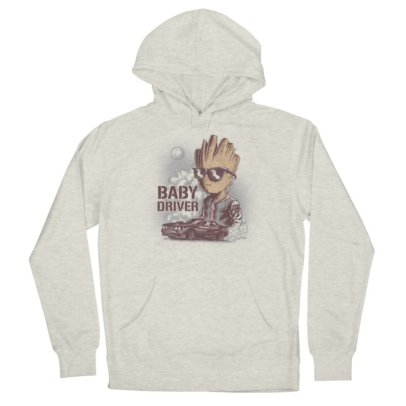 Groot Driver Men's Pullover Hoody by Red Bug's Artist Shop