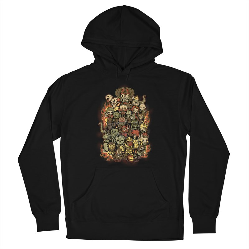 Bad Guys Party Men's Pullover Hoody by Red Bug's Artist Shop