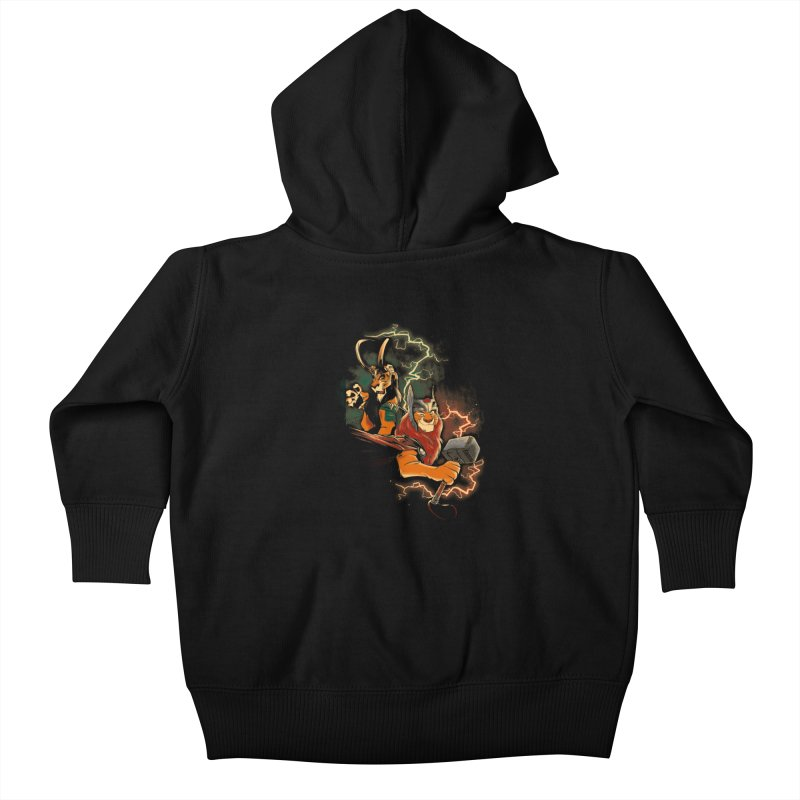Lion Brothers Kids Baby Zip-Up Hoody by Red Bug's Artist Shop