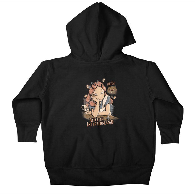 Inceptionland Kids Baby Zip-Up Hoody by Red Bug's Artist Shop