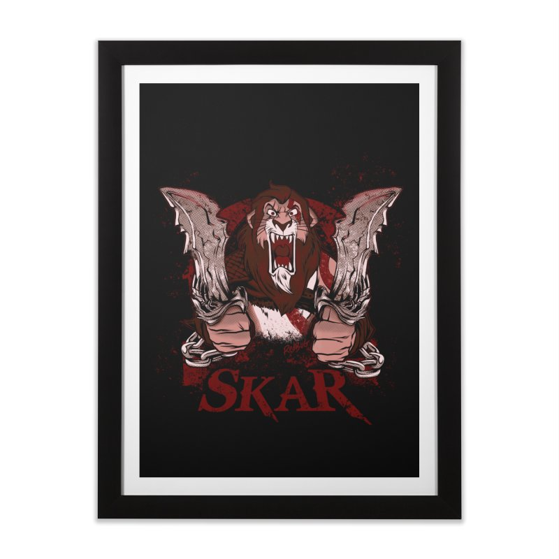 Skar Home Framed Fine Art Print by Red Bug's Artist Shop