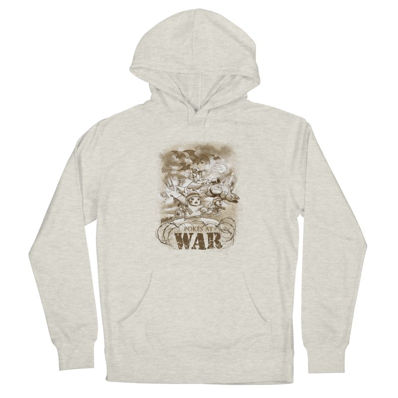 Pokés at War Men's Pullover Hoody by Red Bug's Artist Shop