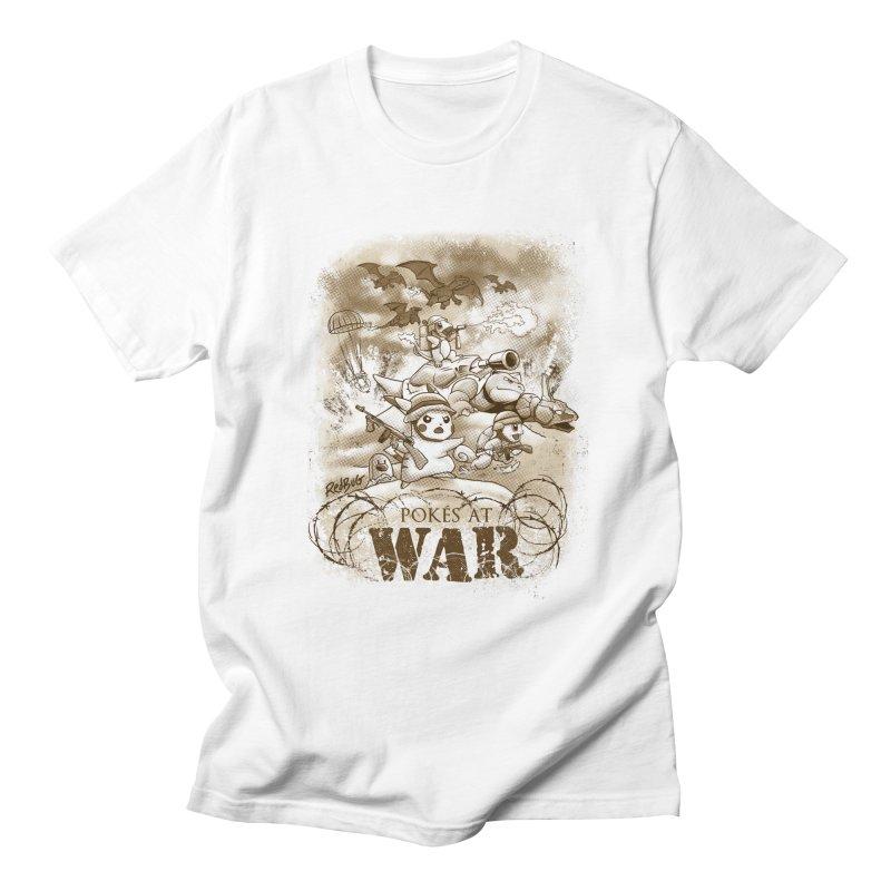 Pokés at War Men's T-Shirt by Red Bug's Artist Shop