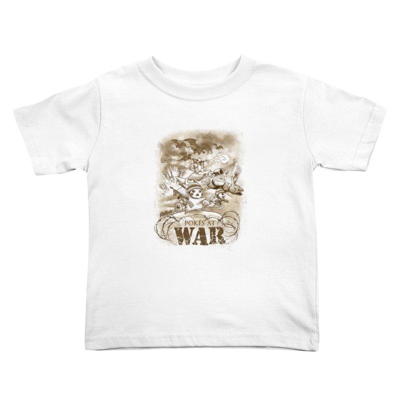 Pokés at War Kids Toddler T-Shirt by Red Bug's Artist Shop