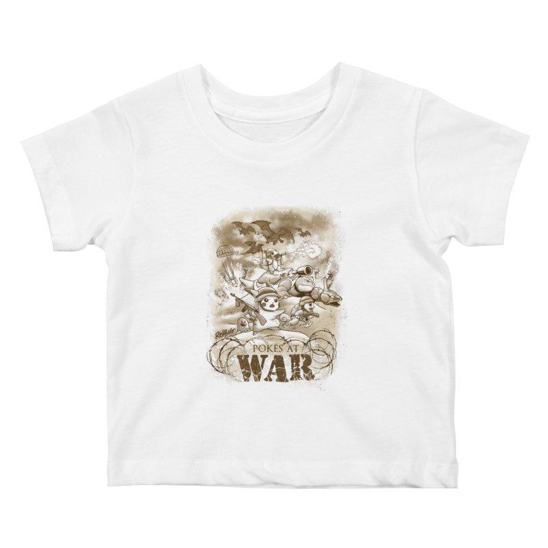 Pokés at War Kids Baby T-Shirt by Red Bug's Artist Shop