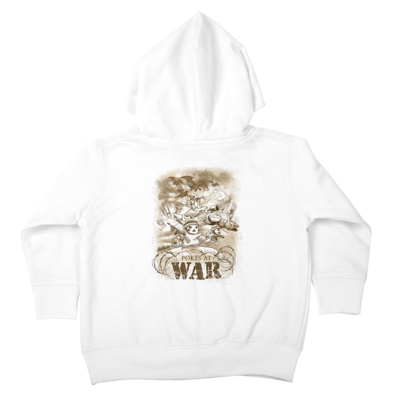 Pokés at War Kids Toddler Zip-Up Hoody by Red Bug's Artist Shop