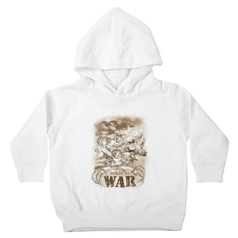 Pokés at War Kids Toddler Pullover Hoody by Red Bug's Artist Shop
