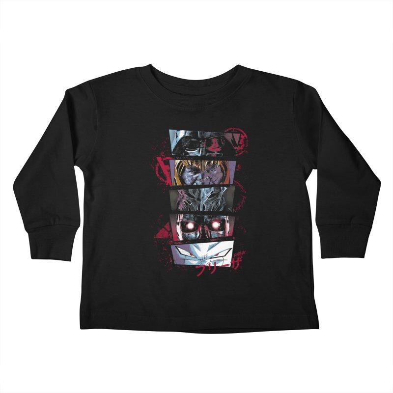 Evil Look Kids Toddler Longsleeve T-Shirt by Red Bug's Artist Shop