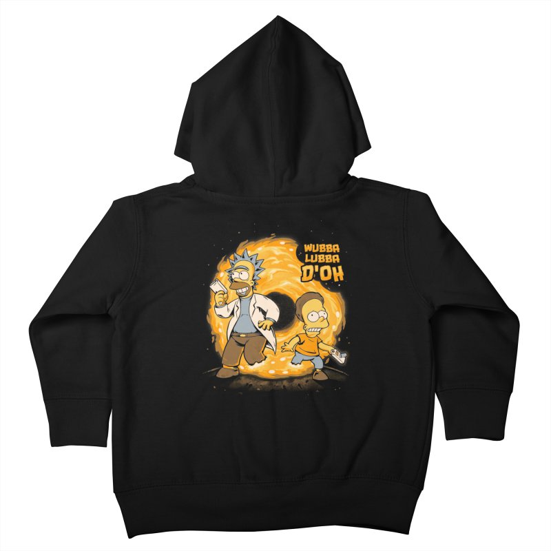 Wubba Lubba D'oh Kids Toddler Zip-Up Hoody by Red Bug's Artist Shop