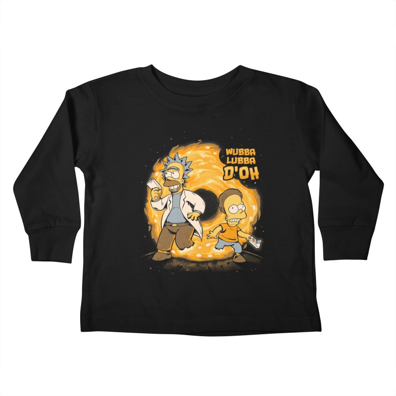 Wubba Lubba D'oh Kids Toddler Longsleeve T-Shirt by Red Bug's Artist Shop