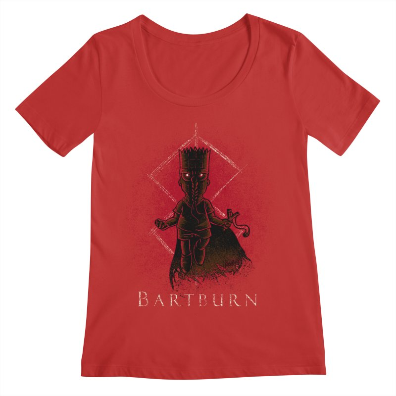 Bartburn Women's Regular Scoop Neck by Red Bug's Artist Shop