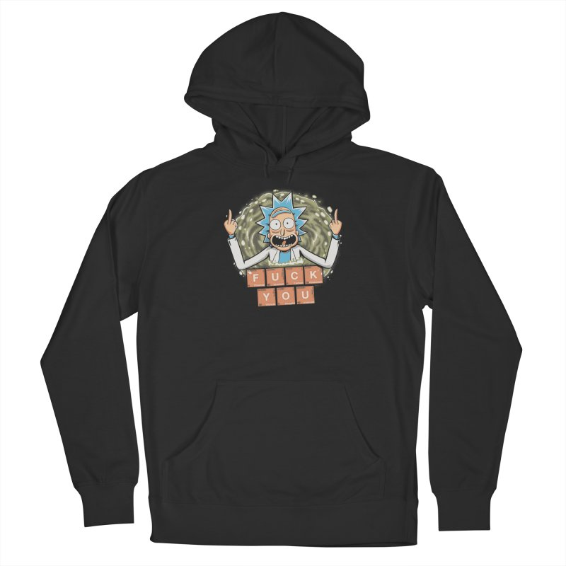 Rick's periodic table Men's French Terry Pullover Hoody by Red Bug's Artist Shop