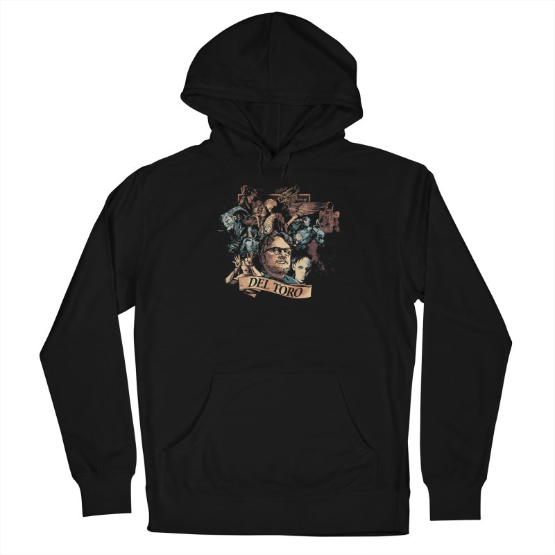 Del Toro Men's French Terry Pullover Hoody by Red Bug's Artist Shop