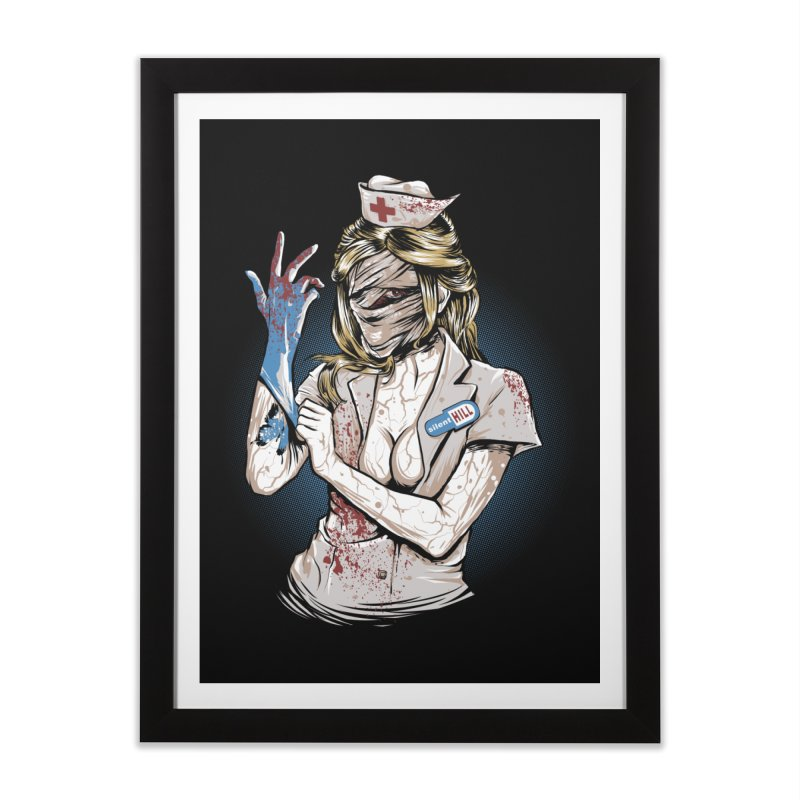 Silent Blink Home Framed Fine Art Print by Red Bug's Artist Shop