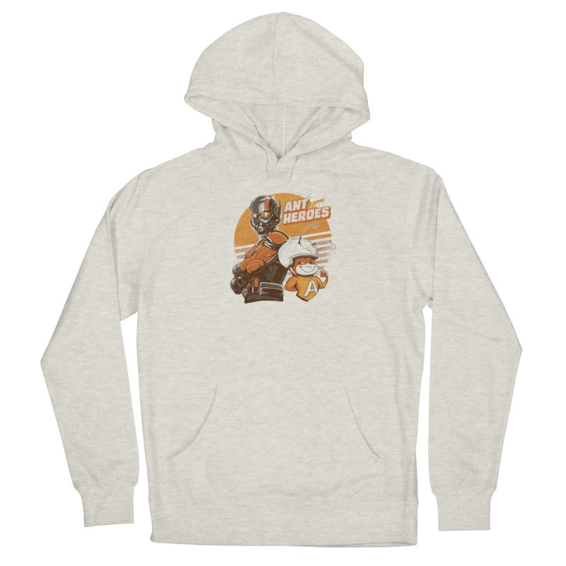 Ant Heroes Men's French Terry Pullover Hoody by Red Bug's Artist Shop