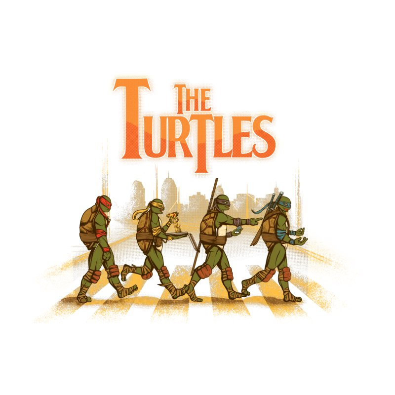 The Turtles Men's Pullover Hoody by Red Bug's Artist Shop