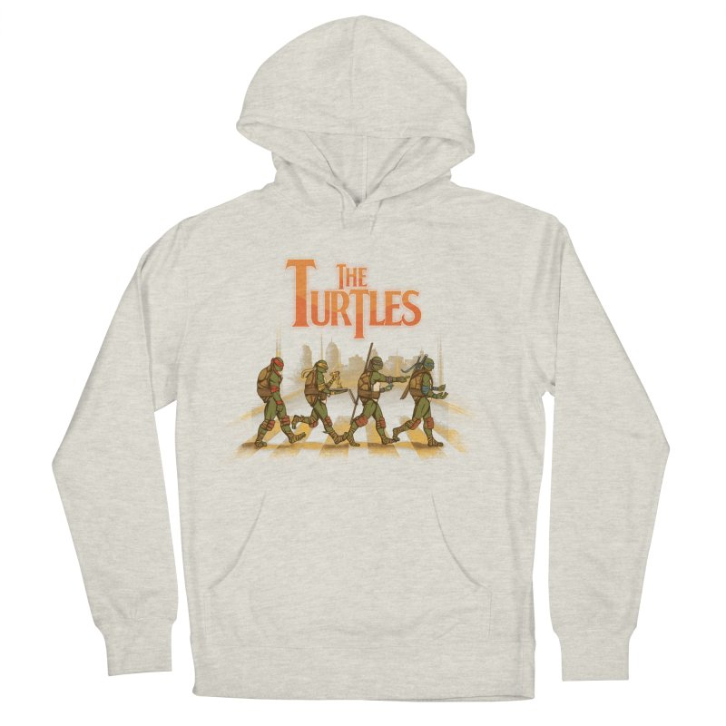 The Turtles Men's French Terry Pullover Hoody by Red Bug's Artist Shop