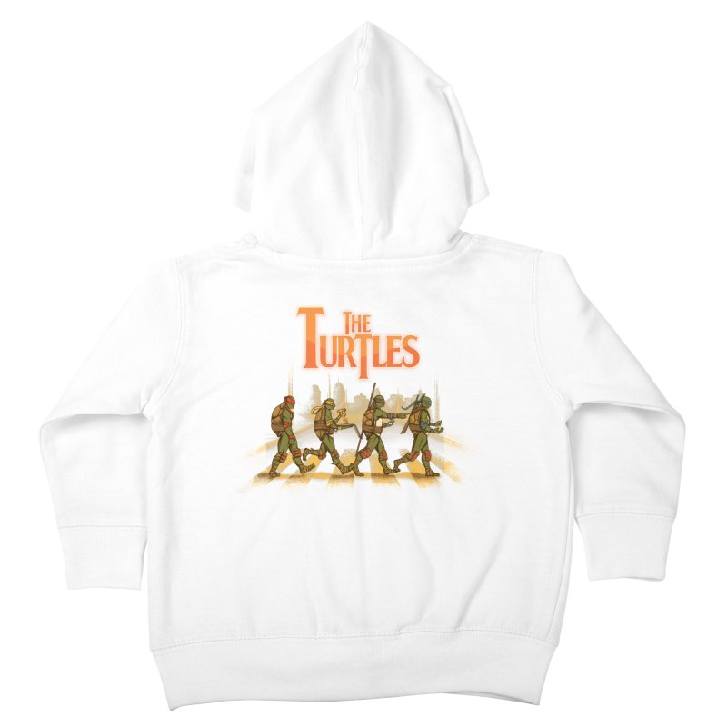 The Turtles Kids Toddler Zip-Up Hoody by Red Bug's Artist Shop