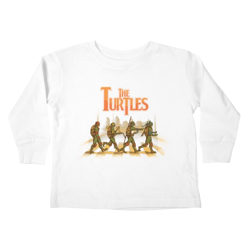 The Turtles Kids Toddler Longsleeve T-Shirt by Red Bug's Artist Shop
