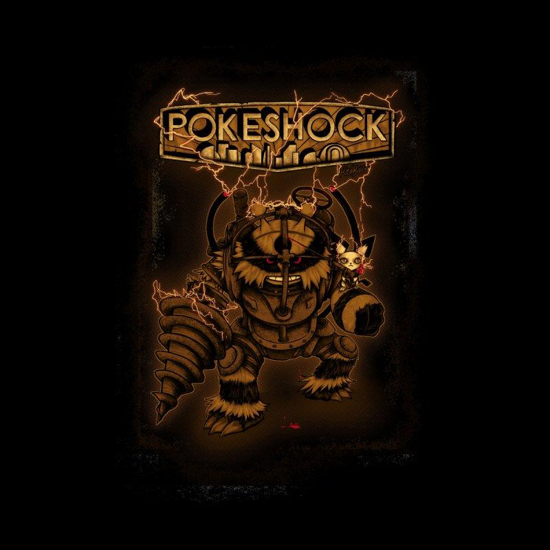 PokeShock Home Framed Fine Art Print by Red Bug's Artist Shop