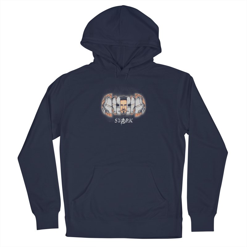 Project Stark Men's French Terry Pullover Hoody by Red Bug's Artist Shop