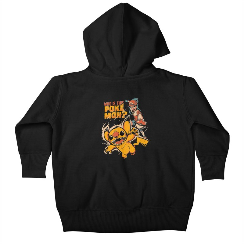 Who is this pokémon? Kids Baby Zip-Up Hoody by Red Bug's Artist Shop