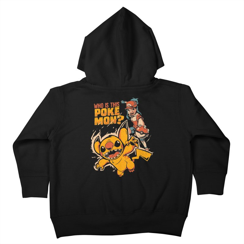 Who is this pokémon? Kids Toddler Zip-Up Hoody by Red Bug's Artist Shop