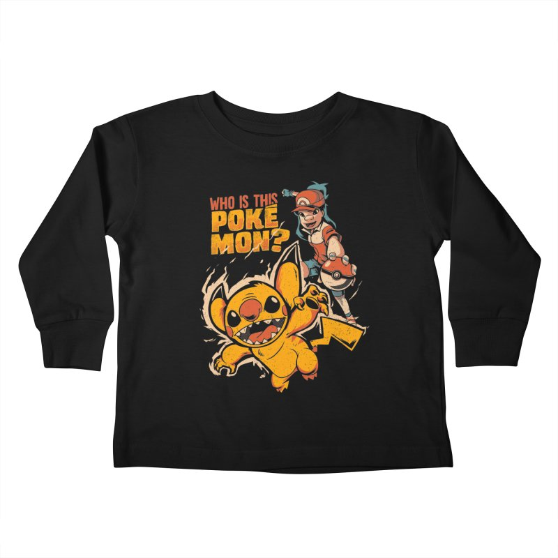 Who is this pokémon? Kids Toddler Longsleeve T-Shirt by Red Bug's Artist Shop