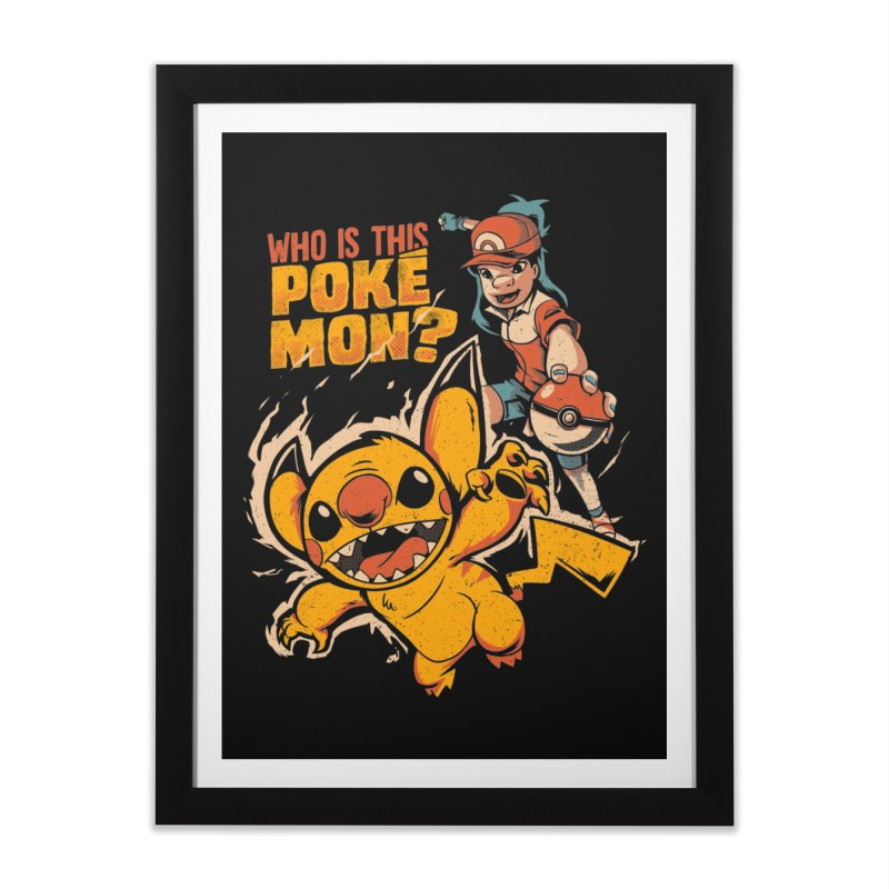 Who is this pokémon? Home Framed Fine Art Print by Red Bug's Artist Shop