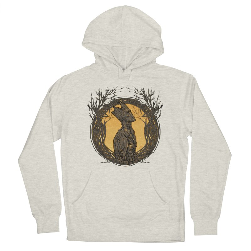 Querido Groot Men's French Terry Pullover Hoody by Red Bug's Artist Shop