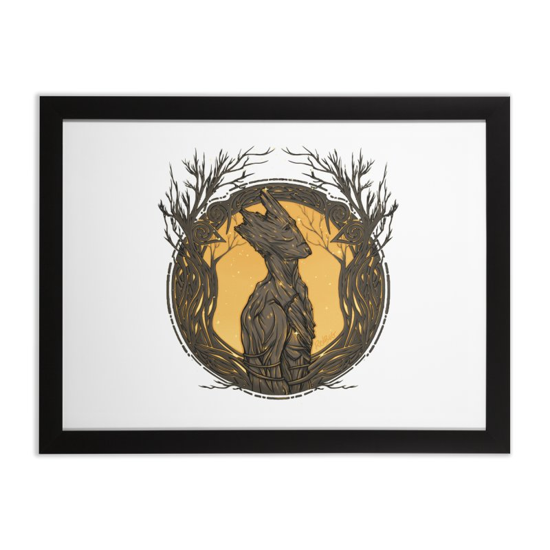 Querido Groot Home Framed Fine Art Print by Red Bug's Artist Shop