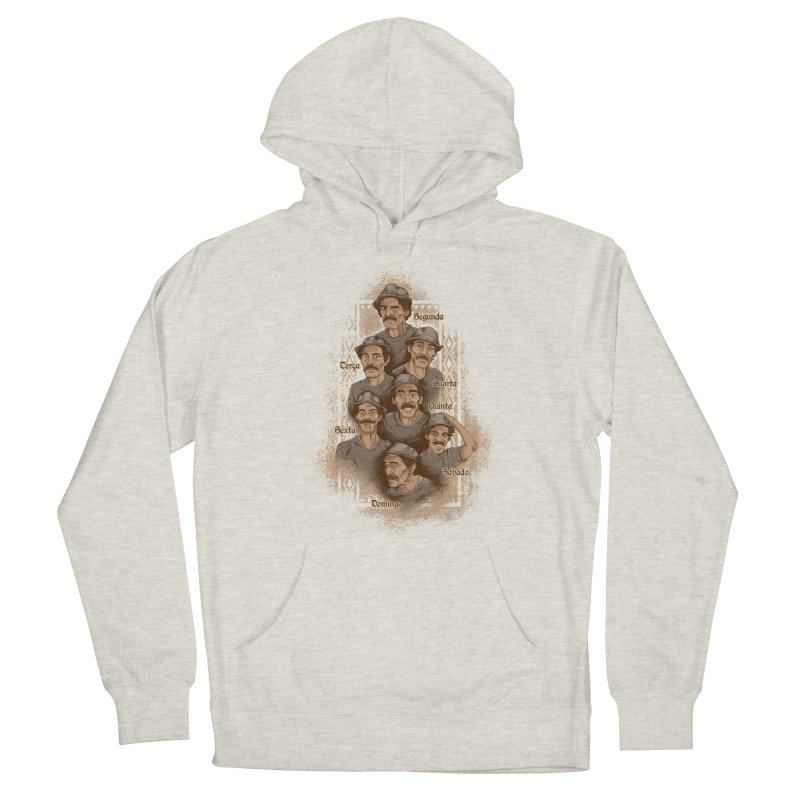 Madruga-Feira Men's French Terry Pullover Hoody by Red Bug's Artist Shop
