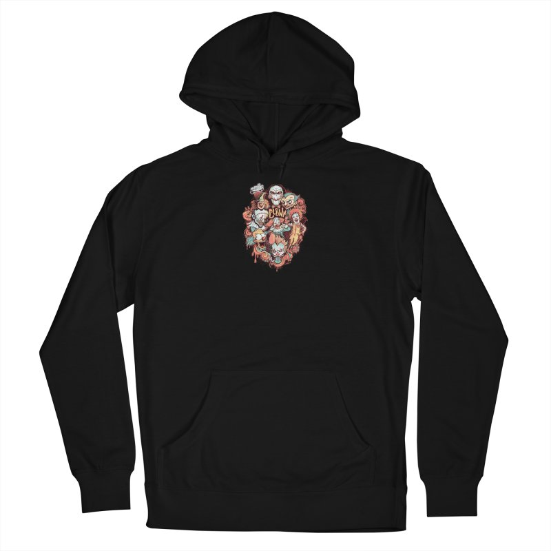 Clowns Men's French Terry Pullover Hoody by Red Bug's Artist Shop