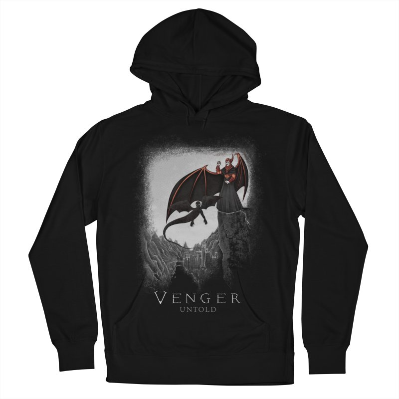Venger Men's French Terry Pullover Hoody by Red Bug's Artist Shop