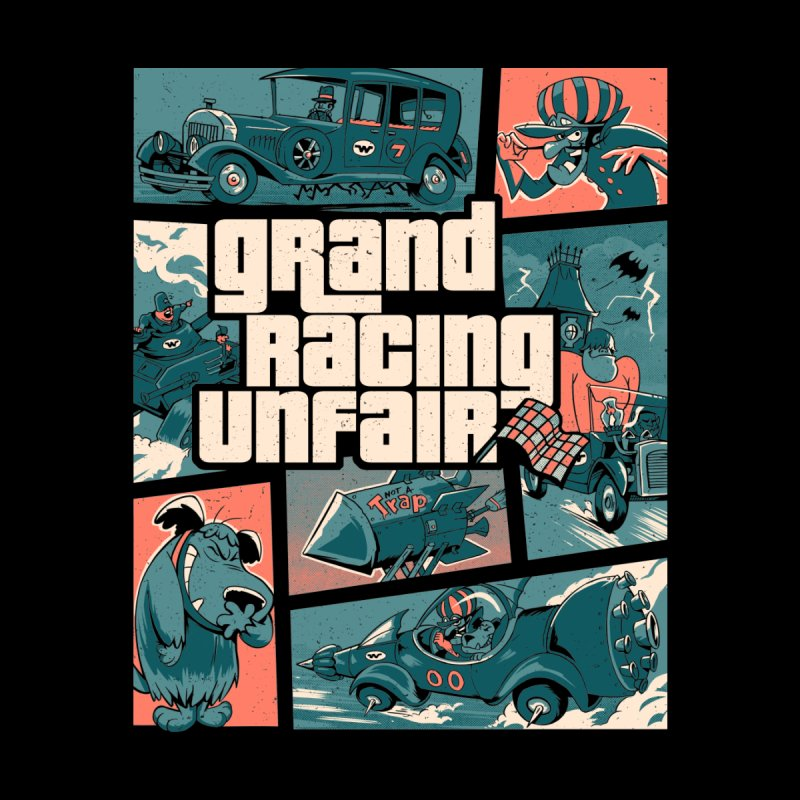 Grand Racing Unfair by Red Bug's Artist Shop