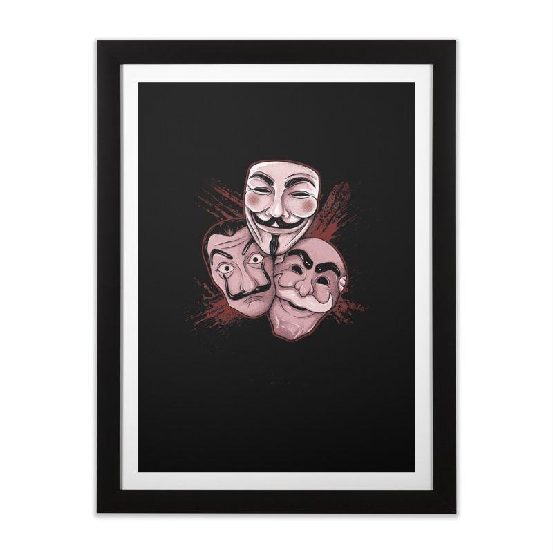 Revolução Home Framed Fine Art Print by Red Bug's Artist Shop