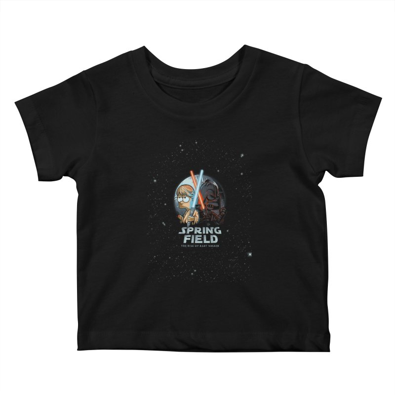 Rise of Bart Kids Baby T-Shirt by Red Bug's Artist Shop