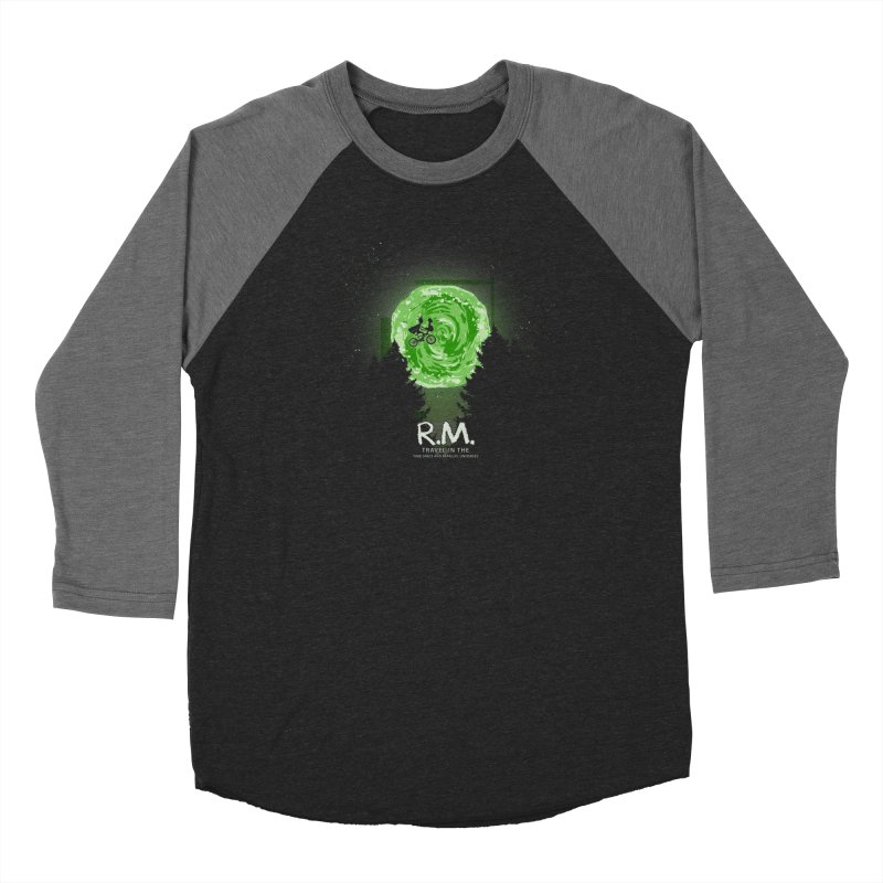 R.M. Men's Baseball Triblend Longsleeve T-Shirt by Red Bug's Artist Shop