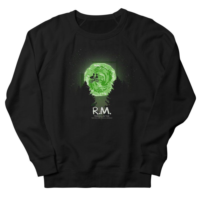 R.M. Men's French Terry Sweatshirt by Red Bug's Artist Shop