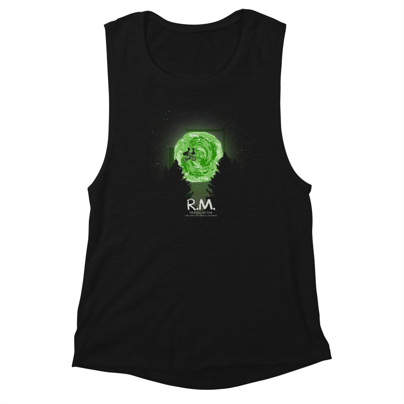 R.M. Women's Muscle Tank by Red Bug's Artist Shop