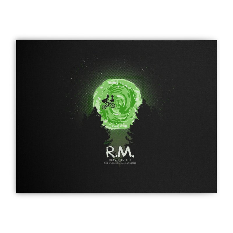 R.M. Home Stretched Canvas by Red Bug's Artist Shop