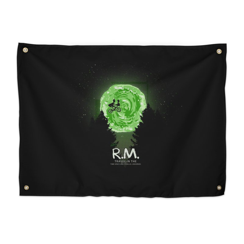 R.M. Home Tapestry by Red Bug's Artist Shop