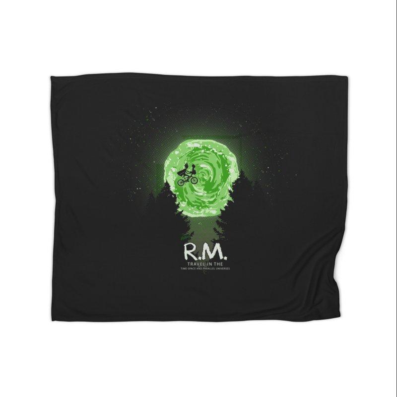 R.M. Home Fleece Blanket Blanket by Red Bug's Artist Shop