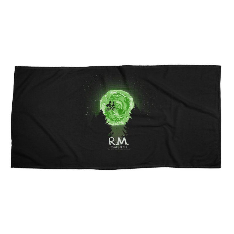R.M. Accessories Beach Towel by Red Bug's Artist Shop