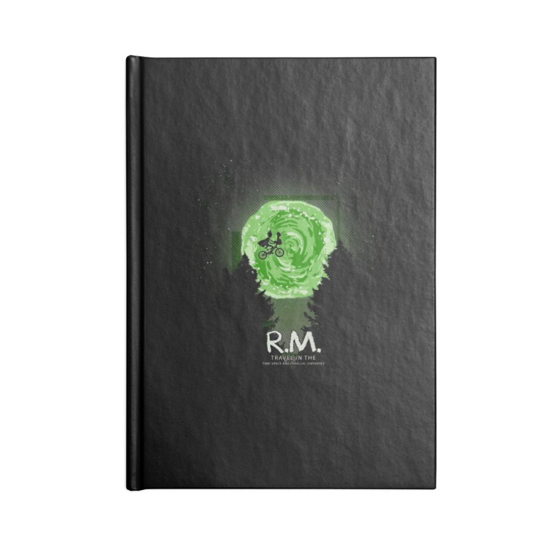 R.M. Accessories Lined Journal Notebook by Red Bug's Artist Shop