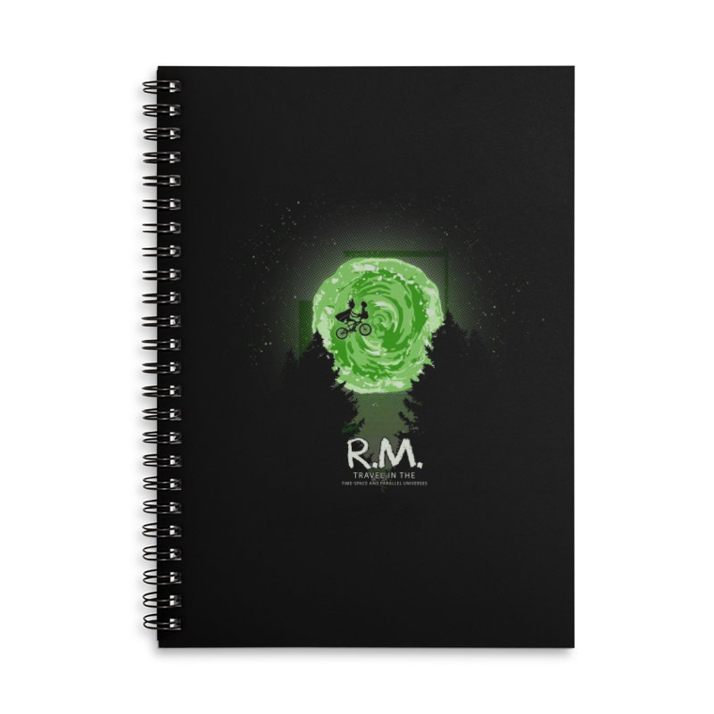 R.M. Accessories Lined Spiral Notebook by Red Bug's Artist Shop