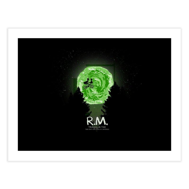 R.M. Home Fine Art Print by Red Bug's Artist Shop