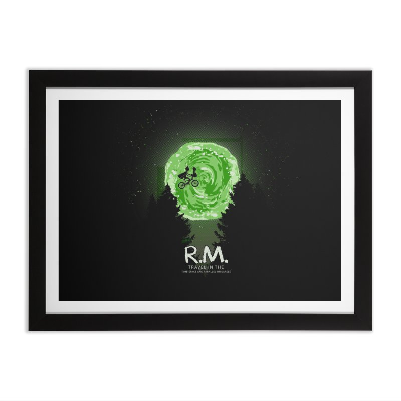 R.M. Home Framed Fine Art Print by Red Bug's Artist Shop